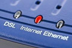 Internetowy modem zdjęcie stock