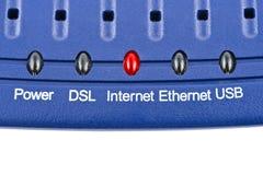 Internetowy modem obraz stock