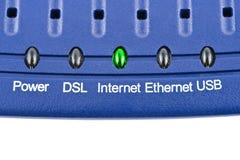 Internetowy modem fotografia stock