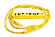 Internetowy Pathcord Fotografia Stock