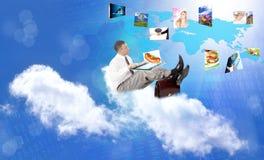 Internetowy pojęcie Fotografia Stock