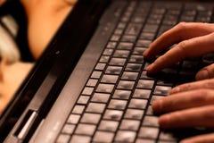 Internetowy porn pojęcie zdjęcie stock