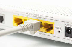 Internetowy router Fotografia Royalty Free