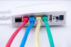 Internetowy router Zdjęcia Royalty Free