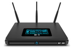Internetowy router Obrazy Royalty Free