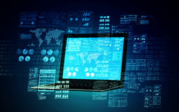 Internetowy serweru pojęcie 01 Zdjęcie Stock