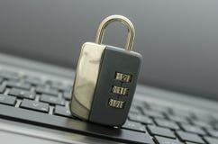 Internetsäkerhet arkivbilder