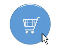 Internetshopping stock de ilustración