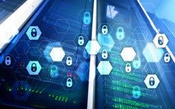 Internetsicherheit, Datenschutz, Informationsprivatleben Internet und Technologiekonzept Stockbilder