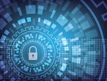 Internetsicherheitshintergrund Stockfotos
