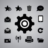 Internetsymbol Arkivfoton