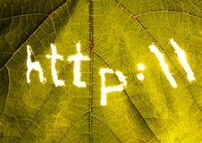 internetsymboler Arkivbild