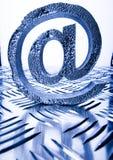 internetsymboler Arkivfoton