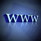 internetteknologi Arkivbild