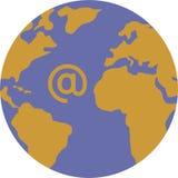 internetvärld Arkivbild