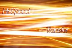 Internetverkehr - Technologiehintergrund Lizenzfreie Stockbilder