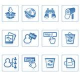 internetwebsite för symbol ii Royaltyfri Foto