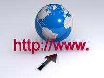 internety Www royalty ilustracja