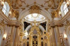 Interni del Museo dell'Ermitage dello stato Fotografie Stock