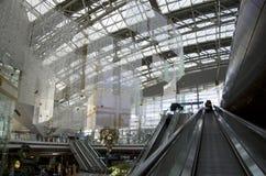 Interni dell'aeroporto di Incheon fotografia stock
