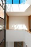 Interni dell'appartamento vuoto Fotografia Stock