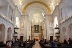 Interni della basilica di Fatima Immagine Stock
