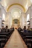 Interni della basilica di Fatima Fotografia Stock