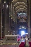 Interni della chiesa di San Nicola a Monte Carlo immagini stock