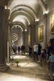 Interni della chiesa di San Nicola a Monte Carlo fotografia stock