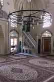 Interni della moschea di Karadjoz-bey a Mostar Fotografie Stock Libere da Diritti