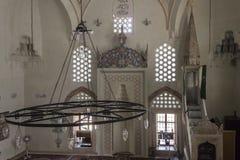 Interni della moschea di Karadjoz-bey a Mostar Fotografia Stock