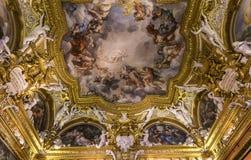 Interni di Palazzo Pitti, Firenze, Italia Immagine Stock