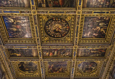 Interni di Palazzo Vecchio, Firenze, Italia Fotografia Stock Libera da Diritti