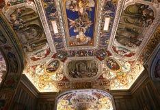 Interni e dettagli del museo del Vaticano, Città del Vaticano Immagine Stock