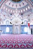 Interno 01 della moschea di Manavgat Fotografia Stock Libera da Diritti