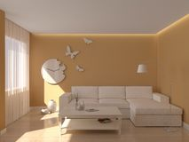 Interno Immagine Stock