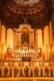 Interno armeno della chiesa Fotografia Stock