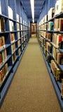 interno Biblioteca en Andover Imagenes de archivo