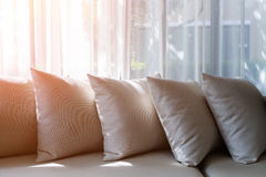 Interno contemporaneo del salone con la parte del sofà Fotografia Stock