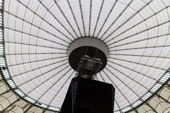 Interno a cupola del tetto Fotografia Stock