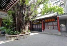 Interno da mesquita do huaisheng imagem de stock