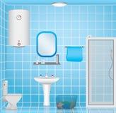 Interno del bagno Fotografia Stock