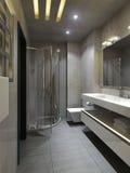 Interno del bagno nello stile urbano Royalty Illustrazione gratis