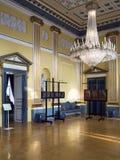 Interno del castello di Amalienborg, Copenhaghen Fotografia Stock