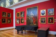 Interno del castello reale a Lublino Fotografia Stock Libera da Diritti