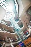 Interno del centro commerciale Fotografia Stock