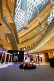 Interno del centro commerciale del centro commerciale Immagini Stock Libere da Diritti