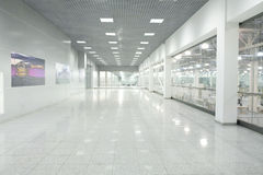 Interno del centro commerciale della città del croco Fotografie Stock Libere da Diritti