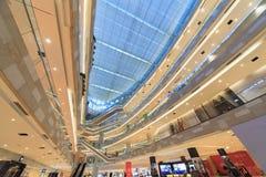 Interno del centro commerciale della città di Zhonghua immagine stock libera da diritti