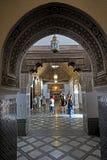 Interno del EL Bahia Palace a Marrakesh Fotografia Stock